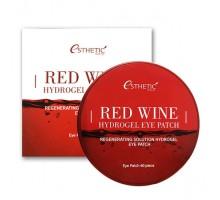 Гидрогелевые патчи с экстрактом красного вина Esthetic House Red Wine Hydrogel Eye Patch 60 штук (30 пар)