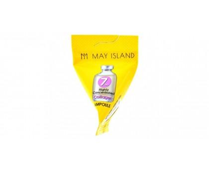 Ампула с коллагеном для упругости кожи May Island 7 Days Highly Concentrated Collagen 5 гр