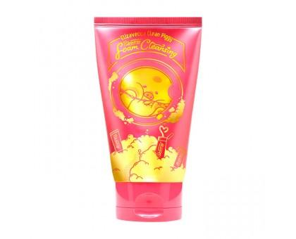 Пенка для умывания с экстрактом ягод Elizavecca Clean Piggy Pinkenergy Foam Cleansing 120 мл
