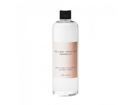 Тонер для лица c розовой водой Graymelin Rose Flower Water 85% Natural Toner, 500 ml
