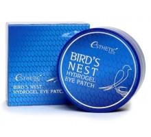 Гидрогелевые патчи для кожи вокруг глаз с экстрактом ласточкиного гнезда Bird's Nest Hydrogel Eye Patch  60 штук (30 пар)