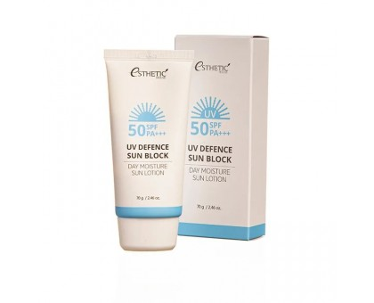 Солнцезащитный лосьон ESTHETIC HOUSE UV Defence Sun Block Day Moisture Sun Lotion SPF50+/PA+++, 70 гр