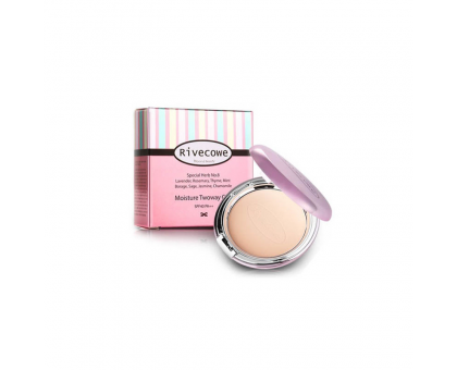 Пудра для лица Rivecowe Beyond Beauty SkinVolume Twoway Cake SPF 30 РА++, 12 гр