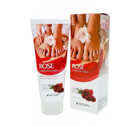 Крем для ног с ароматом розы 3W CLINIC Rose Lovely Foot Cream, 100 мл
