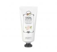 Увлажняющий крем для ног с муцином улитки JIGOTT snail moisture foot cream, 100 мл
