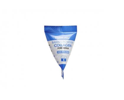 Скраб для лица Farmstay Baking Powder Collagen Pore Scrub, 7 гр