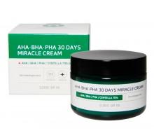 Крем с aha/bha/pha кислотами для проблемной кожи Some By Mi Aha-Bha-Pha 30 Days Miracle 60 мл