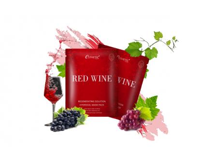 Гидрогелевая маска с красным вином Esthetic House Red Wine Regenerating Solution Hydrogel Mask Pack
