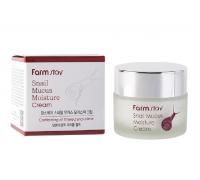 Увлажняющий крем с улиткой FarmStay Snail Mucus Moisture Cream, 50 gr