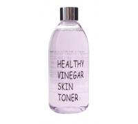 Слабокислотный тоник с черникой для сужения пор Realskin Healthy Vinegar Skin Toner, 300 мл