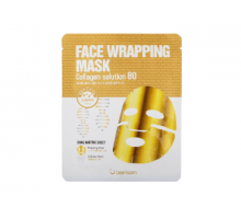 Двухслойная маска Berrisom Face Lapping Mask # Collagen Solution 80