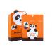 Тканевая маска с ежевикой Berrisom Animal mask series - Panda 25мл