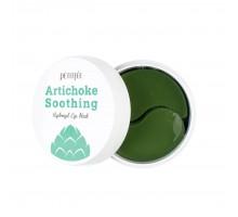 Противоотёчные гидрогелевые патчи с артишоком Petitfee Artichoke Soothing Hydrogel Eye Mask, 60 шт