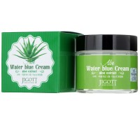 Крем для лица Jigott АЛОЭ ALOE Water Blue Cream 70мл