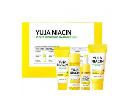Набор миниатюр для осветления кожи с экстрактом юдзу Some By Mi Yuja Niacin 30 Days Brightening Starter Kit