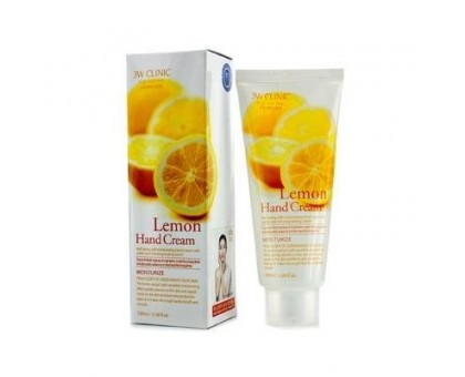 3W CLINIC  крем для рук Moisturizing Hand Cream Lemon