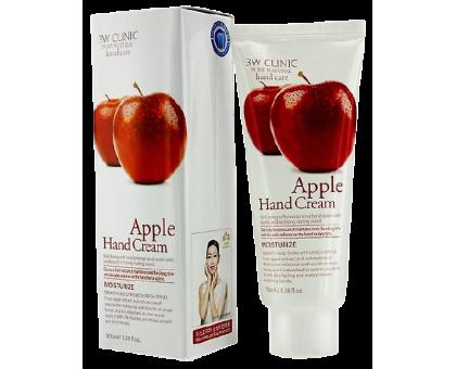 3W Clinic Apple Hand Cream - крем для рук с экстрактом яблока