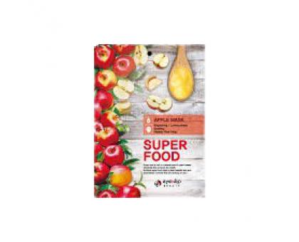 Тканевая маска для лица с экстрактом яблока Super Food Apple Mask, 23 gr
