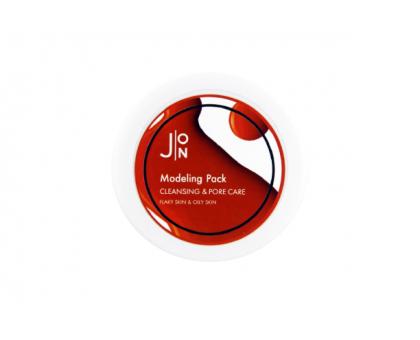 Альгинатная маска ОЧИЩЕНИЕ И СУЖЕНИЕ ПОР J:ON Cleansing & Pore Care Modeling Pack 18гр