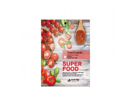 Тканевая маска с экстрактом томата Eyenlip Super Food Tomatо Mask, 23 gr