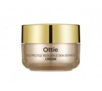 Увлажняющий крем для упругости кожи лица Ottie Gold Prestige Resilience Advanced Cream, 50 gr