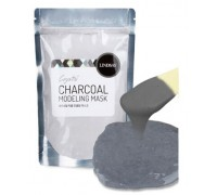 Альгинатная маска с древесным углем + мерная ложка - шпатель Lindsay Premium Charcoal Modeling Mask Pack 240 гр