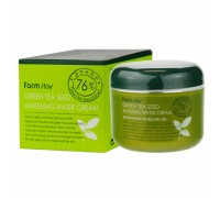 Осветляющий увлажняющий крем для лица с экстрактом зеленого чая FarmStay Green Tea Seed Whitening Water Cream 100 мл