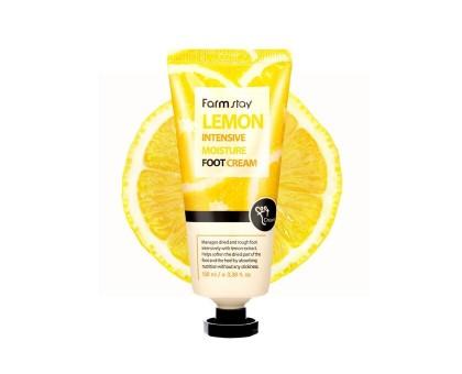 Лимонный крем для ног FarmStay Lemon Intensive Moisture Foot Cream 100 мл