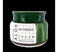 Крем с алоэ FARM STAY Visible Difference Fresh Cream Aloe 100 мл