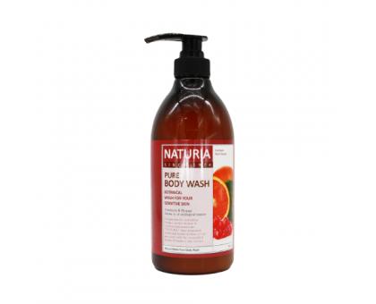Гель для душа КЛЮКВА и АПЕЛЬСИН NATURIA  PURE BODY WASH Cranberry & Orange 750 мл