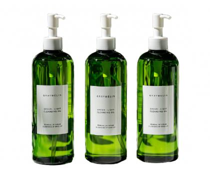 Успокаивающее гидрофильное масло Graymelin Green-Light Cleansing Oil, 400 ml