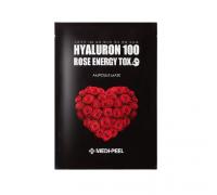 Ампульная омолаживающая маска с розой Medi-Peel Hyaluron 100 Rose Energy Tox