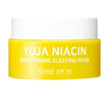Миниатюра осветляющая ночная маска с экстрактом юдзу Some By Mi Yuja Niacin Brightening Sleeping Mask 15 мл