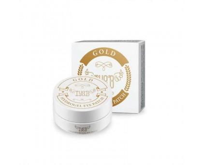 Патчи для кожи вокруг глаз с 24-каратным коллоидным золотом IYOUB Gold Hydrogel Eye Patch  60 шт. (30 пар)