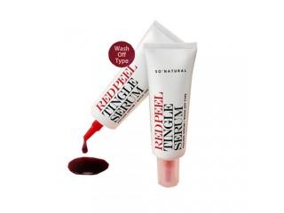 Кислотная сыворотка с тингл-эффектом So Natural Red Peel Tingle Serum 20 мл