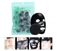 Прессованная маска-таблетка с бамбуковым углем 1 шт.