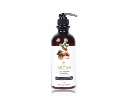 Восстанавливающий кондиционер для волос с аргановым маслом - May Island Argan Clinic Treatment Conditioner, 750 мл.