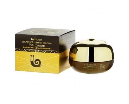 Регенерирующий крем с муцином улитки для ухода за зрелой кожей век - Farmstay Escargot Noblesse Intensive Cream, 50 мл.