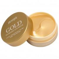 Патчи гидрогелевые для кожи вокруг глаз с золотом - Petitfee Gold Hydrogel Eye Patch, 60 шт./30 пар