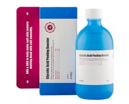 Гликолевый пилинг-бустер c 3% AHA-кислотами A'Pieu Glycolic Acid Peeling Booster, 120 мл.