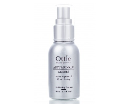 Антивозрастная сыворотка для лица от Ottie Anti Wrinkle Serum, 40мл.