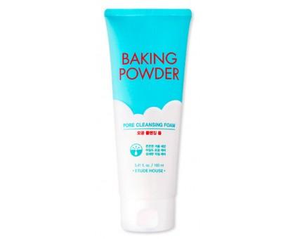 Очищающая пенка 3 в 1 с содой Etude House Baking Powder Pore Cleansing Foam, 150 мл.