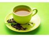 с зеленым чаем