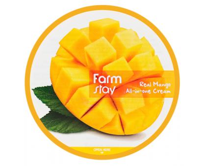 Многофункциональный крем с экстрактом манго FarmStay Real Mango All-In-One Cream 300 мл