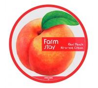 Многофункциональный крем с экстрактом персика FarmStay Real Peach All-In-One Cream 300 мл