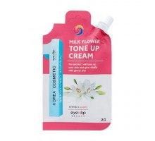 Крем осветляющий для выравнивания тона кожи EYENLIP Milk Flower Tone Up Cream 25 мл