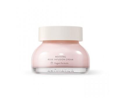 Крем с экстрактом дамасской розы Aromatica Reviving Rose Infusion Cream 50 мл