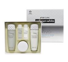 Осветление Набор для ухода за кожей лица Collagen Whitening Skin Care Items 3 Set, 3W Clinic