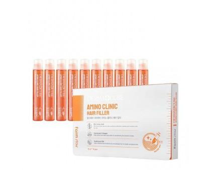 Интенсивный филлер для волос с аминокислотами FarmStay Derma Сube Amino Clinic Hair Filler 13 мл