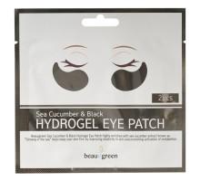Гидрогелевые патчи с морским огурцом для кожи вокруг глаз BEAUUGREEN Sea Cucumber & Black Hydrogel Eye Patch Set
